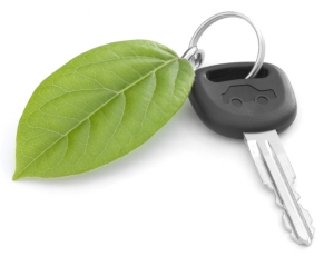 Green Car Key