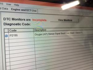 Code P2195
