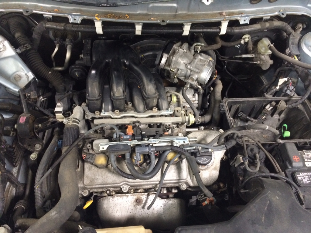 RX330 Engine bay oil leak