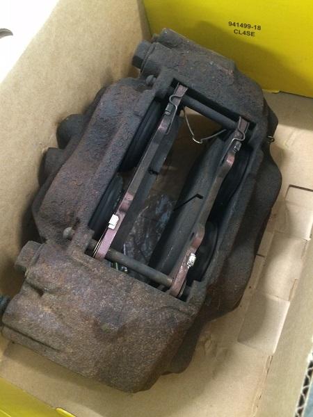 GX470 brake caliper