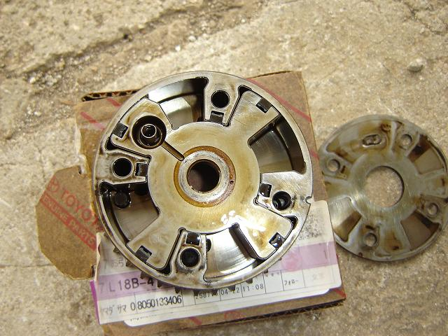 VVT timing gear