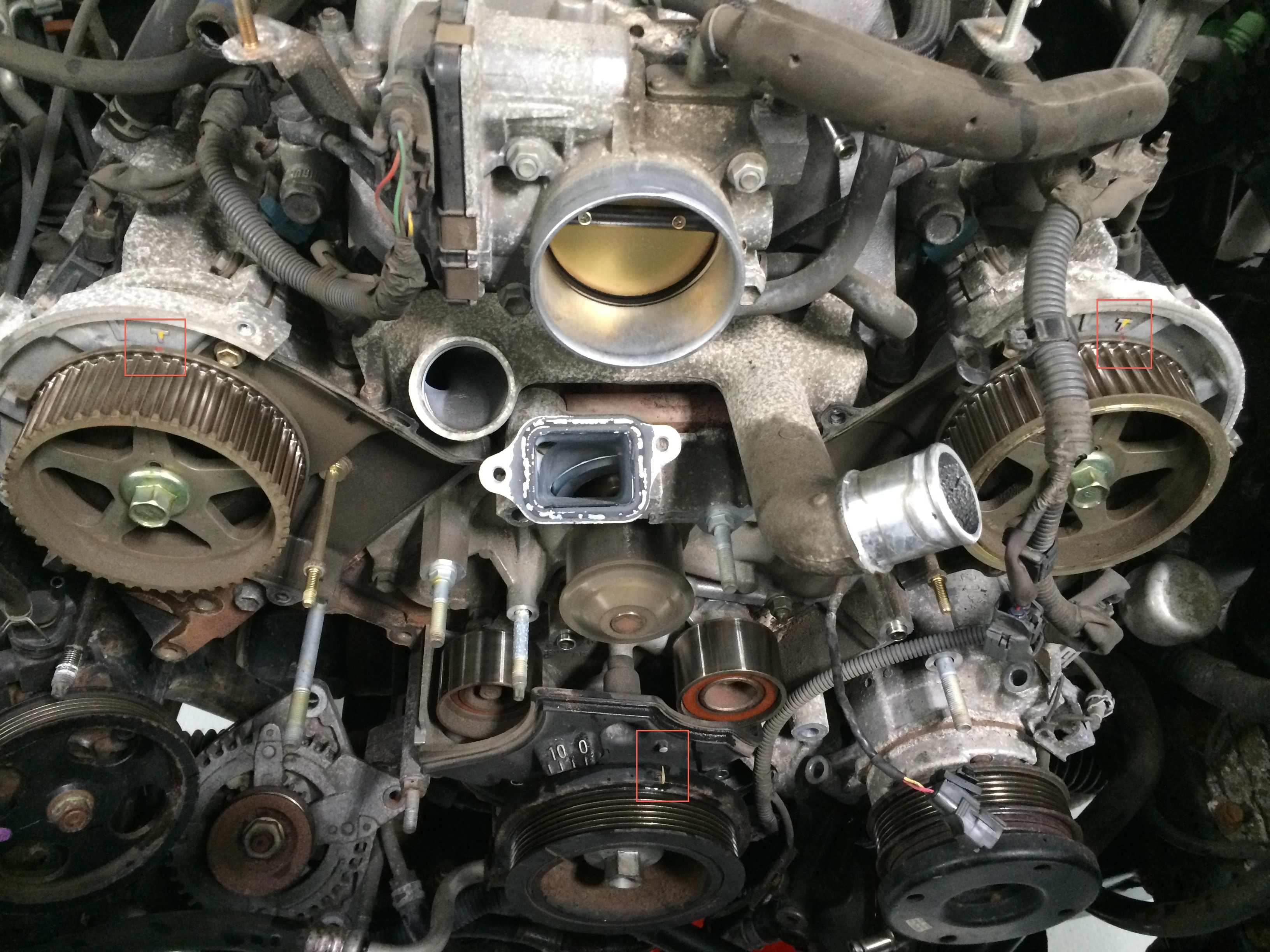 Toyota And Lexus 3 0 3 3l 1mz 3mz V6 Engine Timing With Photos