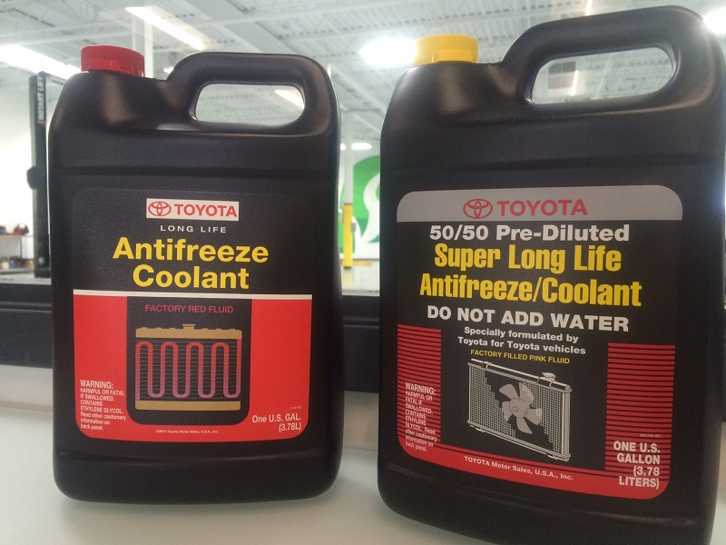 toyota super longlife antifreeze coolant usa