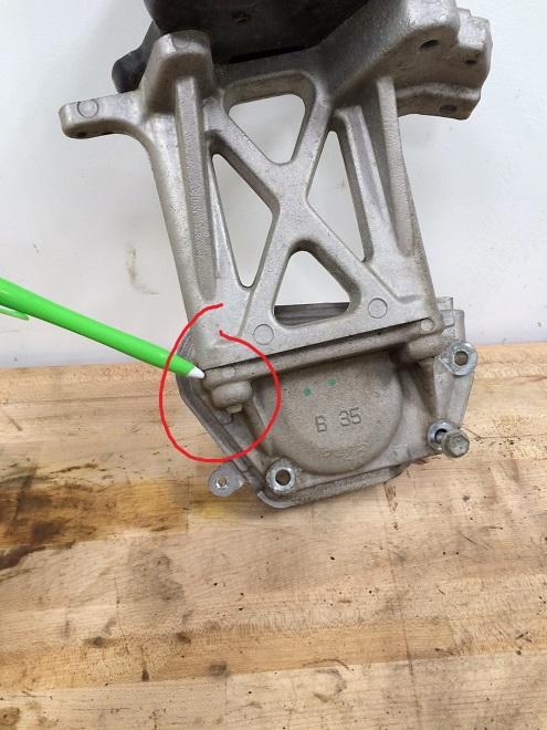 Broken Bolt Removal >> Toyota Sienna engine mount bolt broken during timing belt replacement