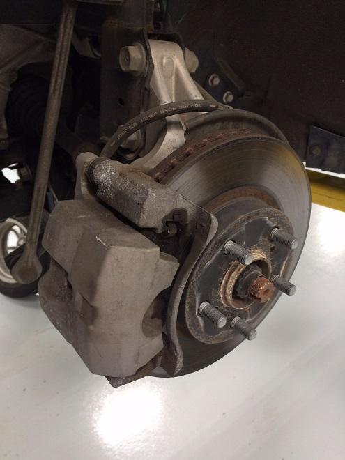 Prius Front Brakes