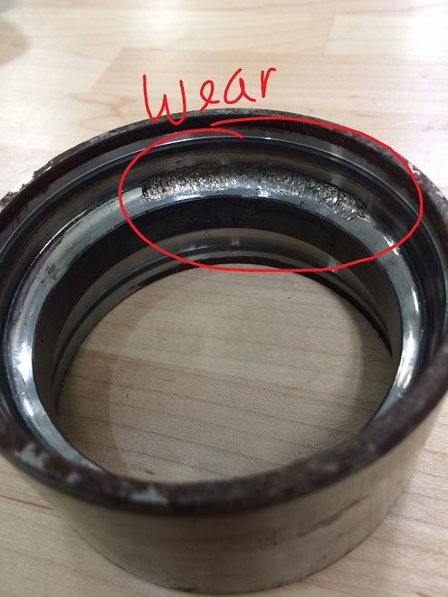 Wheel bearing wear
