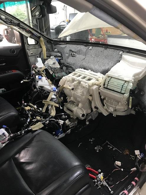 RX450h Crash Bar Out