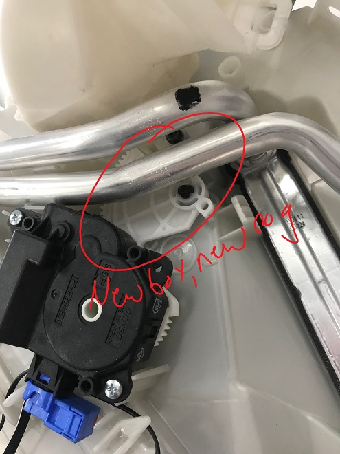 RX450h New Airbox Closeup