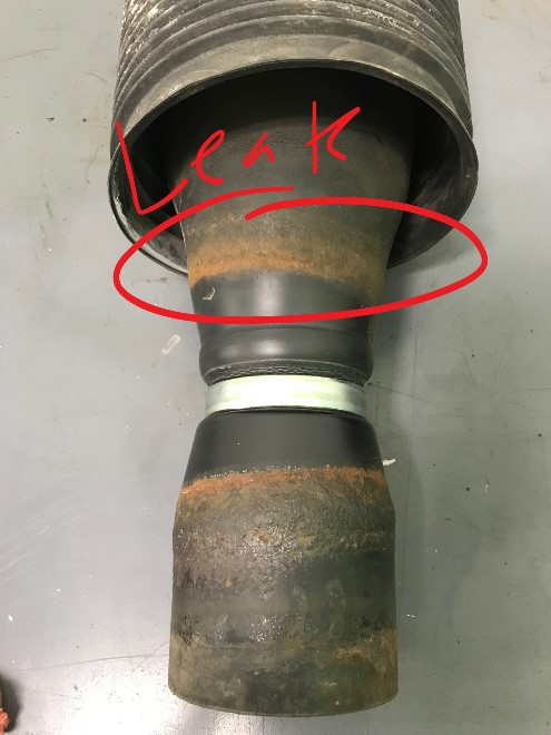 GX470 Air Spring leaking