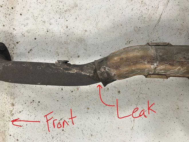 GS350 exhaust leak