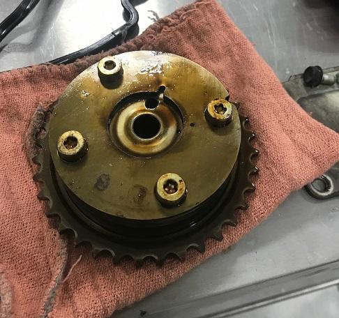 Camry VVT gear