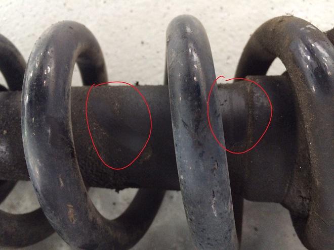 Leaking Toyota Strut