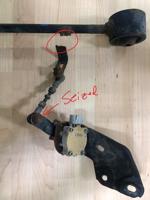 GX470 Broken Height Sensor
