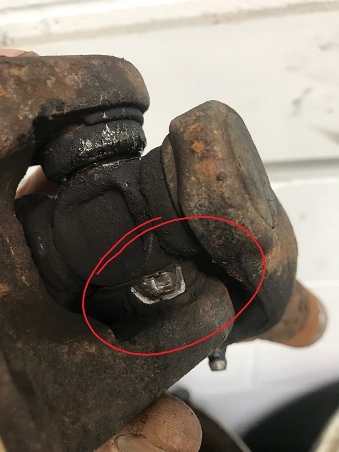 LX470 Universal joint