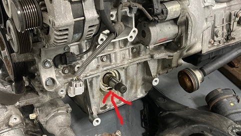 Engine out, differential off